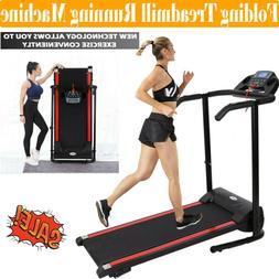 1100W Treadmill Electric Motorized Folding Running Machine P