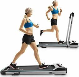 Treadmill Electric Motorized Folding 2.25 HP 2 in 1 Running