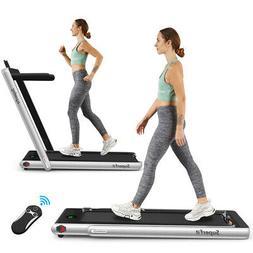 2 25hp 2 in 1 folding treadmill