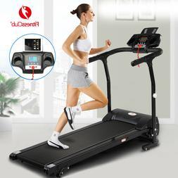 2HP Folding Treadmill Electric Motorized Power 12KM/H Runnin