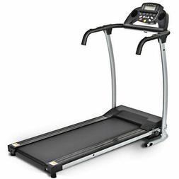 800W Folding Treadmill Electric /Support Motorized Power Run