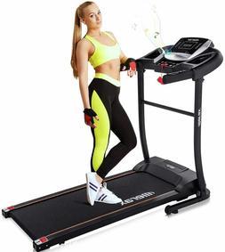 Merax Easy Assembly Folding Treadmill Motorized Running Jogg