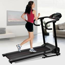 Electric Motorized Treadmill Folding 1100W Running Machine P