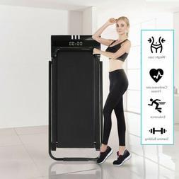 Electric Treadmill Under Desk Treadmills Fitness Training w/