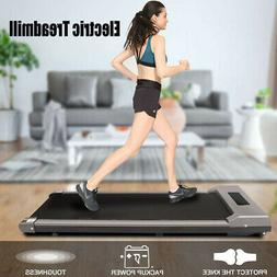 Electric Walking Pad Treadmill Fitness LCD Display Home Offi