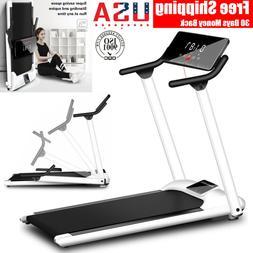 Folding Electric Treadmill Motorized Running Machine Gym Fit