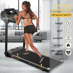 Fitnessclub Folding Manual Treadmill Incline Home GYM Machin