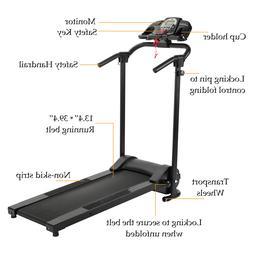 Folding Treadmill Electric Motorized Running Machine Home Gy