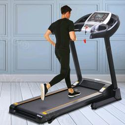 ANCHEER Folding Treadmill Home Running Machine,Smart APP Con