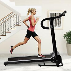 1100W Motorized Electric Treadmill Folding Running Cardio Machine