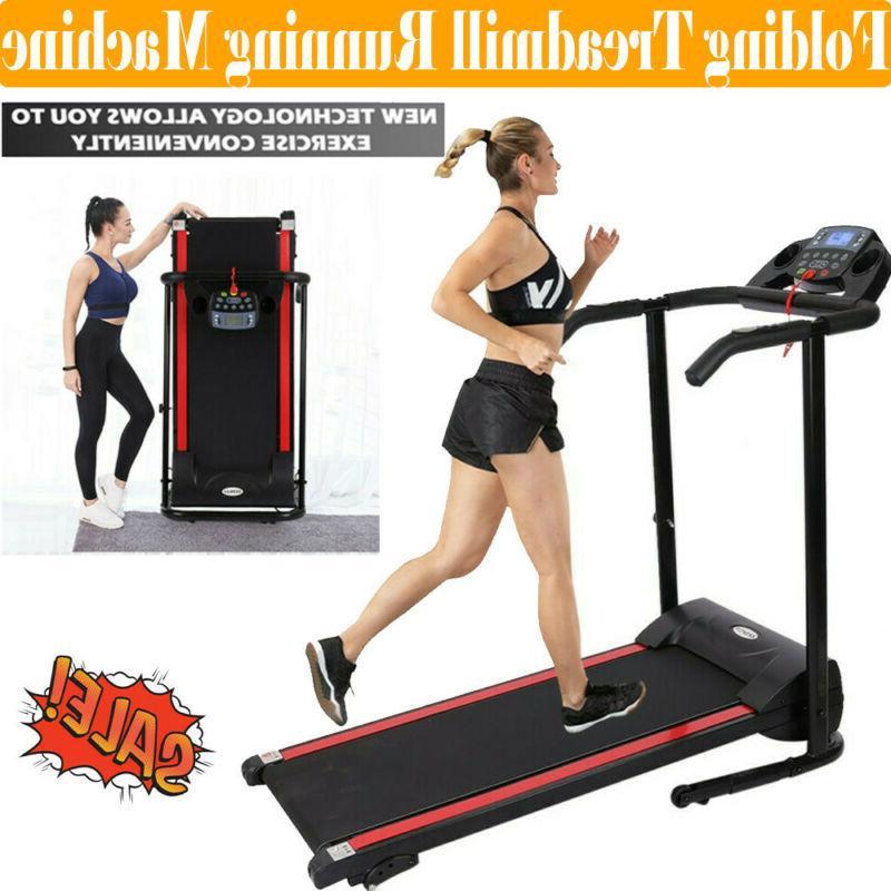 1100w treadmill electric motorized folding running machine