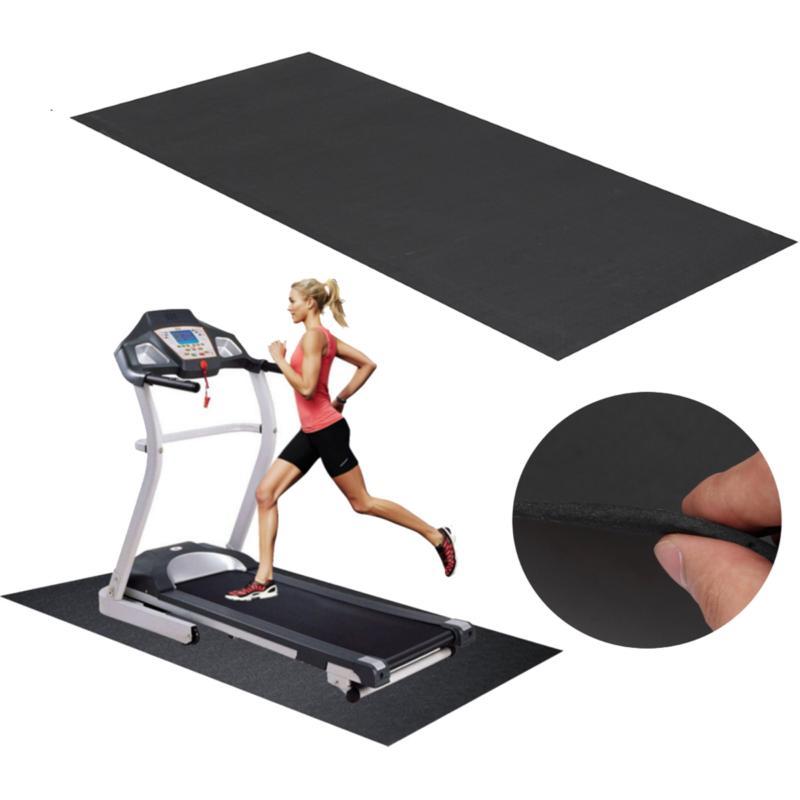 150x75cm black treadmill mat outdoor sports fitness