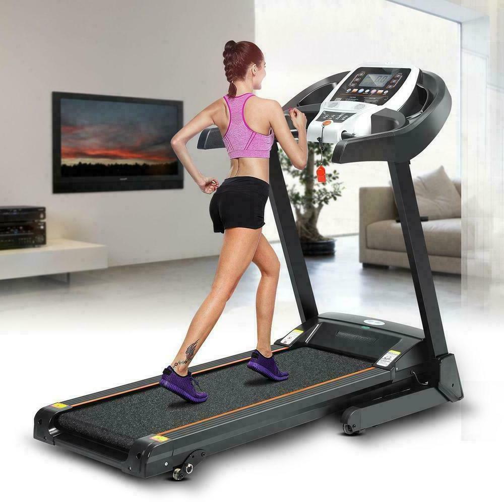 3.0 HP Heavy Duty Fold Motorized Electric Treadmill Incline