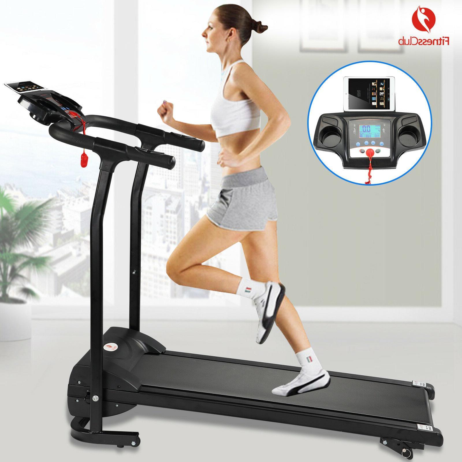 2hp folding treadmill electric motorized power 12km