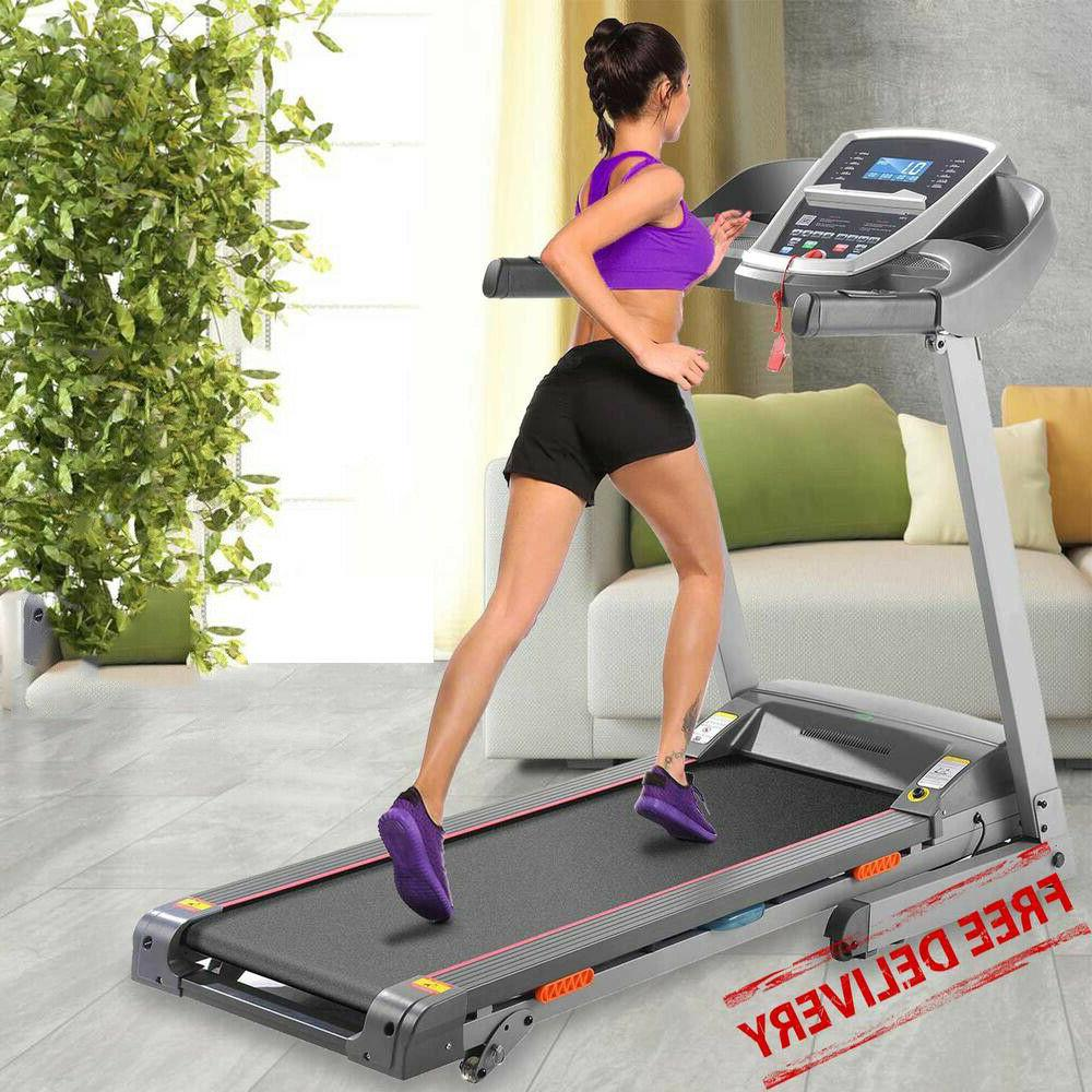 3.0HP Folding Treadmill Home Running Machine,Smart APP Contr