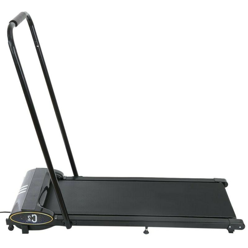 Electric Treadmill Desk Treadmills Fitness Training Control Black