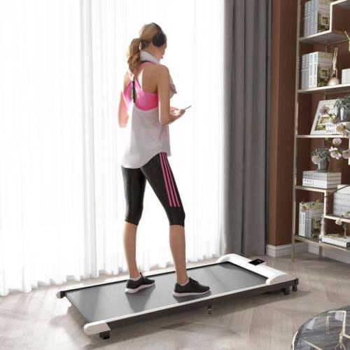 Treadmill Fitness Electric Walking Pad  LCD Display Home Off