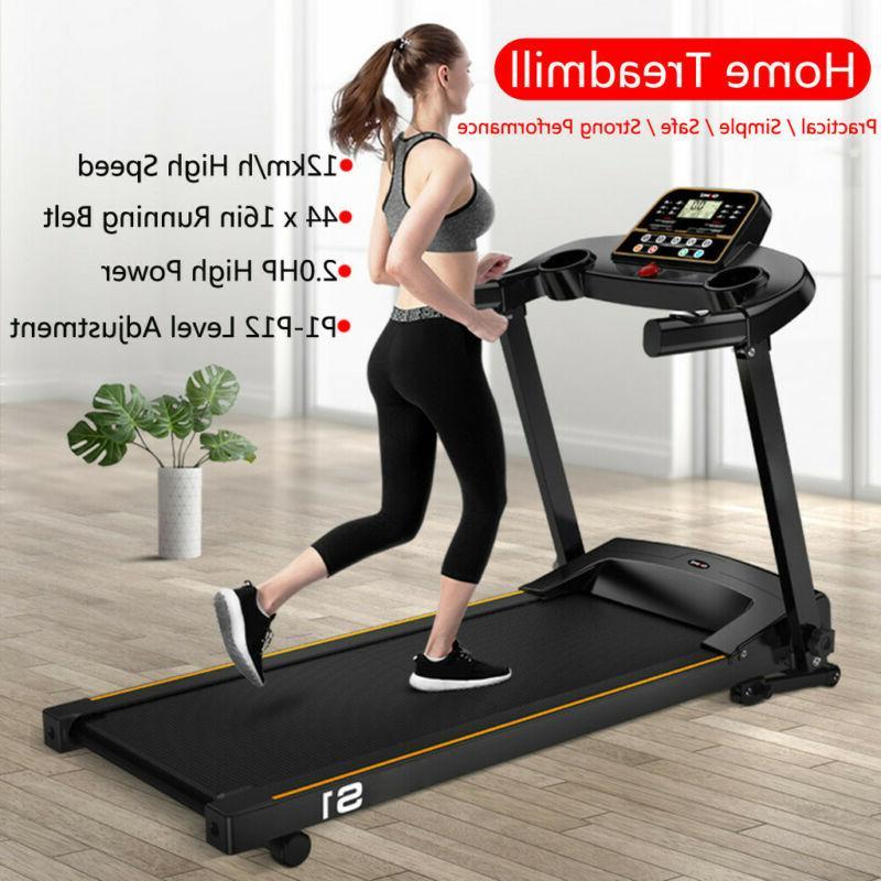 1500W Folding Treadmill Electric Motorized Running Machine W