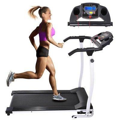 1100W Folding Electric Treadmill Running Fitness Gym Portabl
