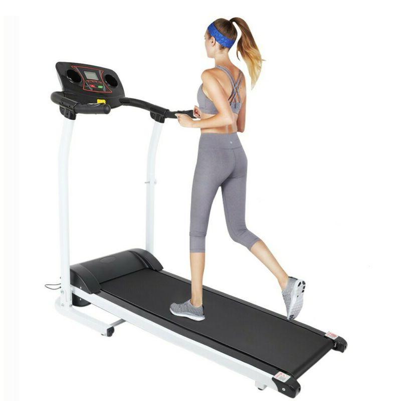 Folding Treadmill Power Jogging Fitness Machine USA