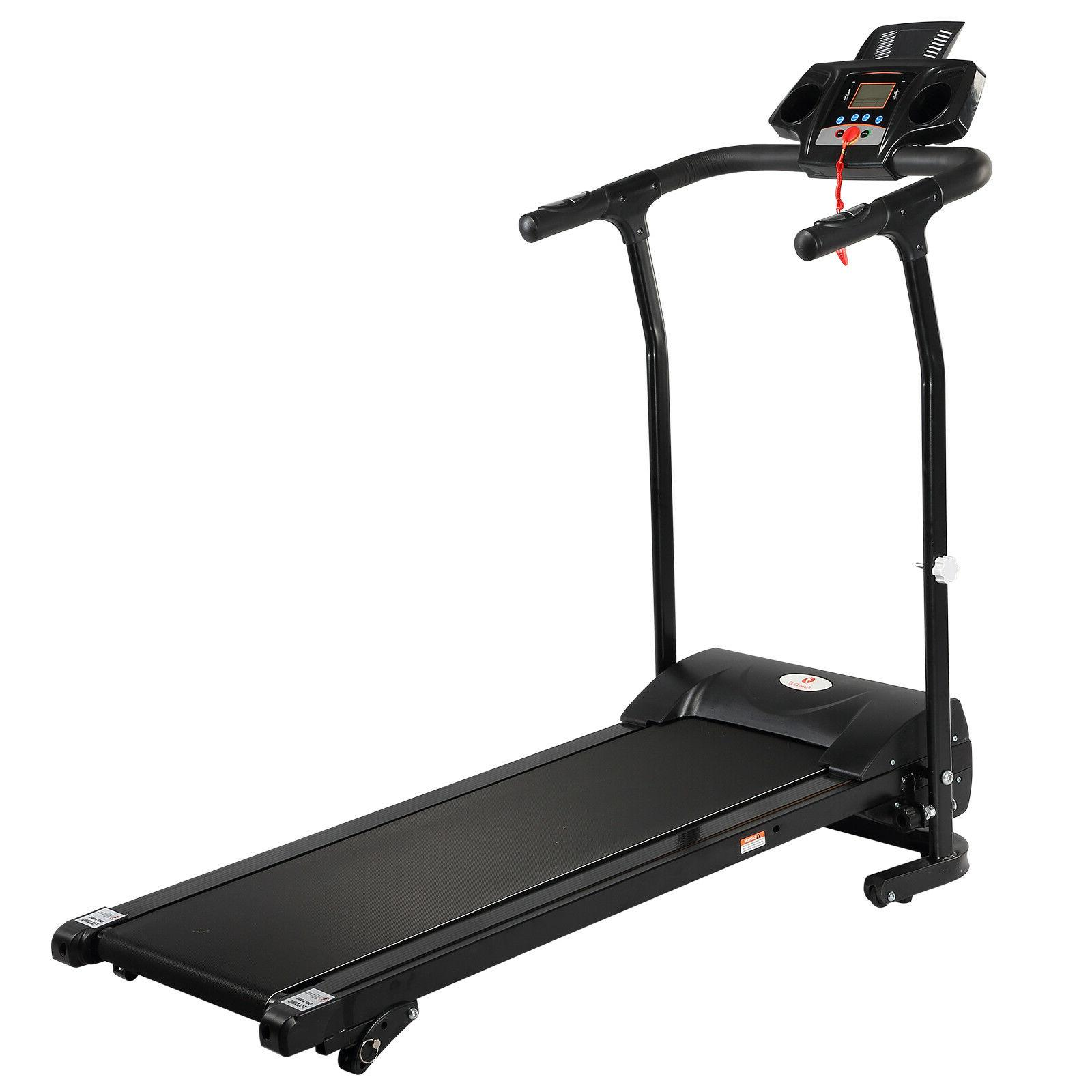2HP Treadmill Electric Motorized 12KM/H Fitness Machine