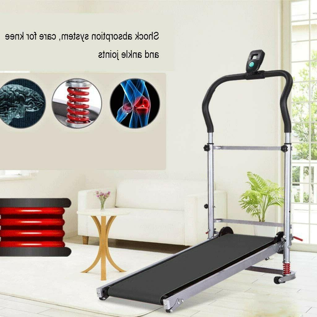 Folding Manual Treadmill Machine Incline