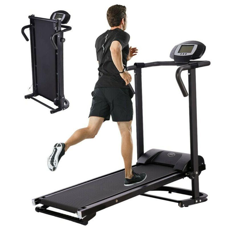 Manual Treadmill Walking Jogging Exercise Machine Folding