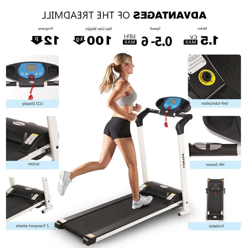 Folding Electric Motorized Exercise Machine Gym