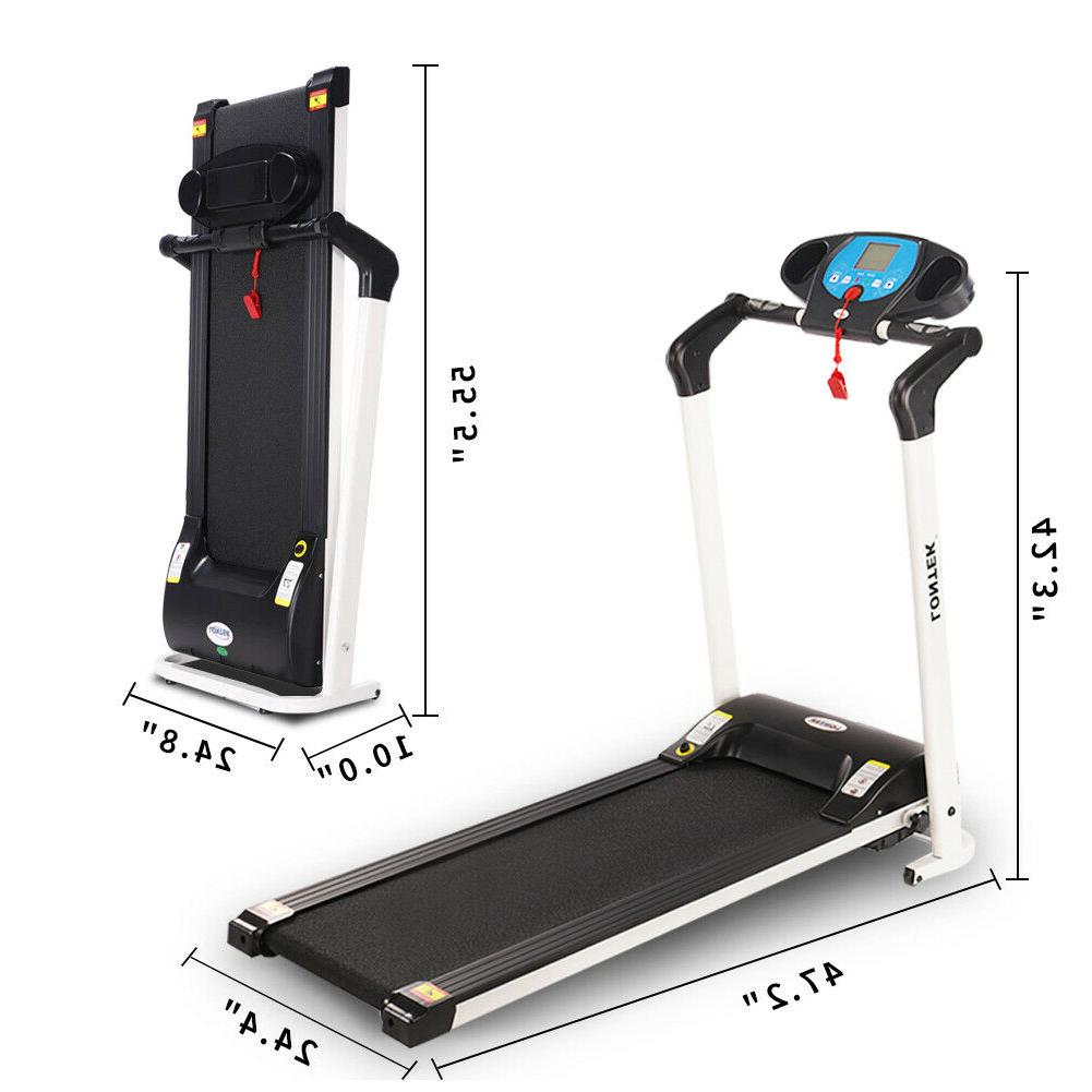 Folding Treadmill Electric Exercise Running Gym