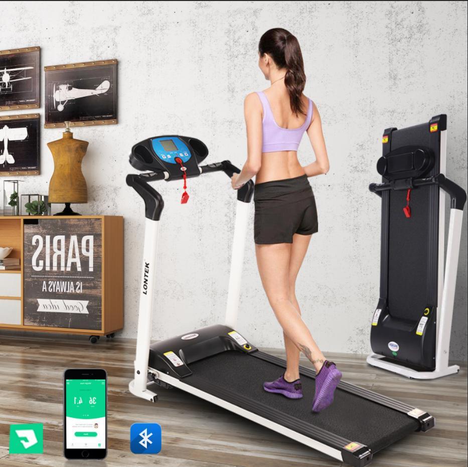 folding treadmill electric motorized exercise running machin