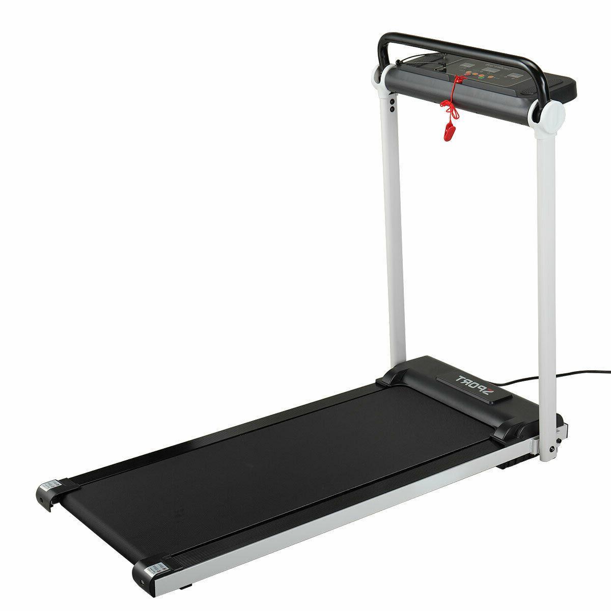 Folding Treadmill Motorized Power HP Machine