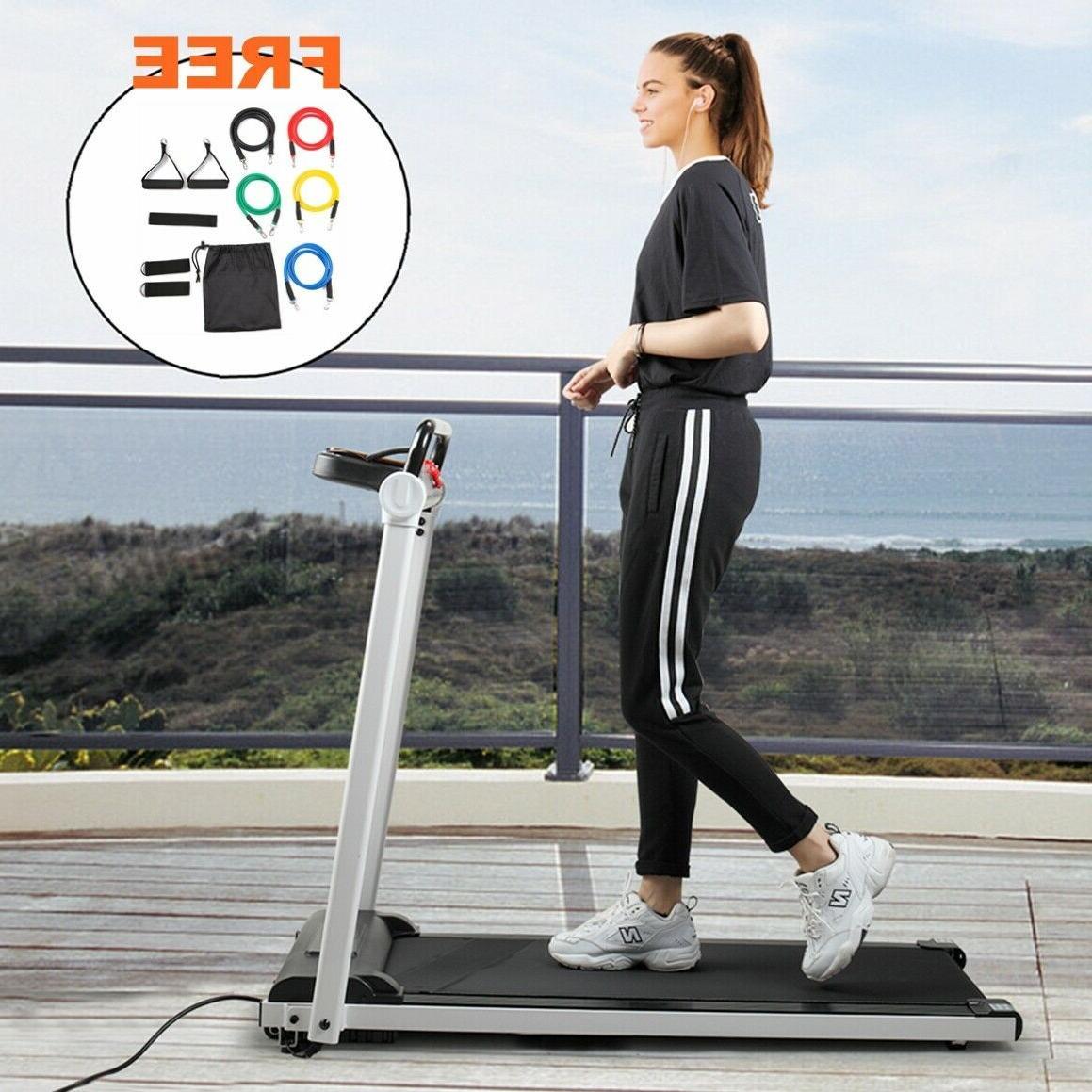 folding treadmill electric motorized power 2 0