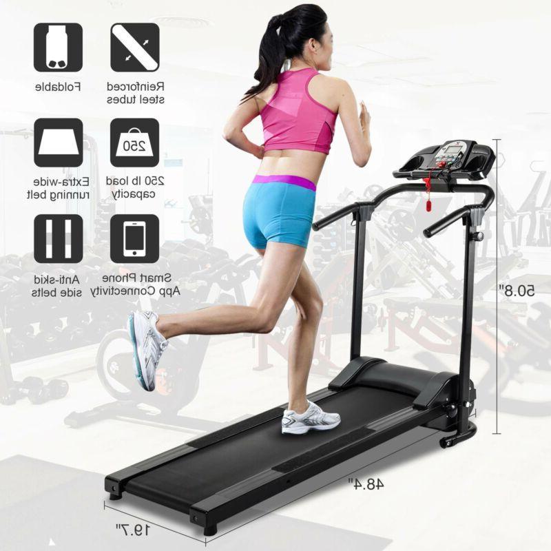 folding treadmill electric motorized power running jogging