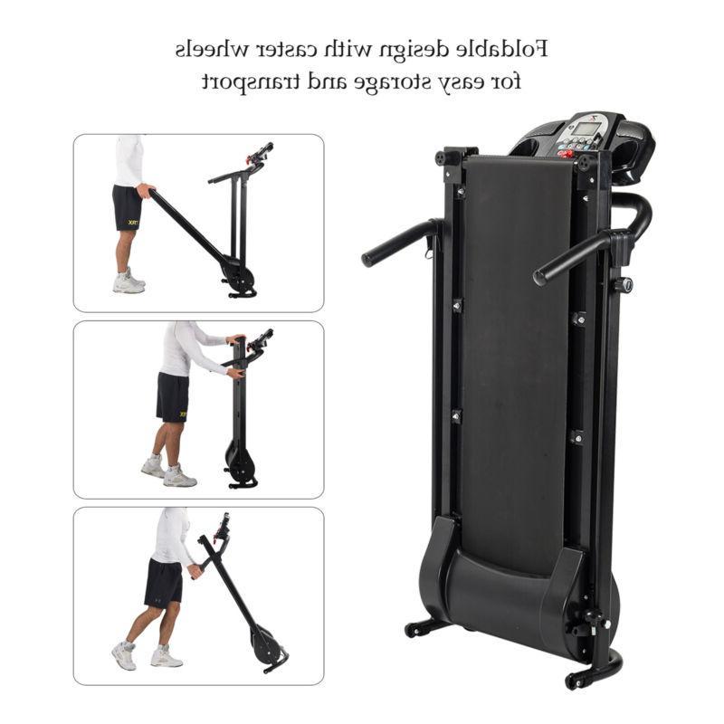 750W Foldable Electric Motorized Treadmill Running Power Machine