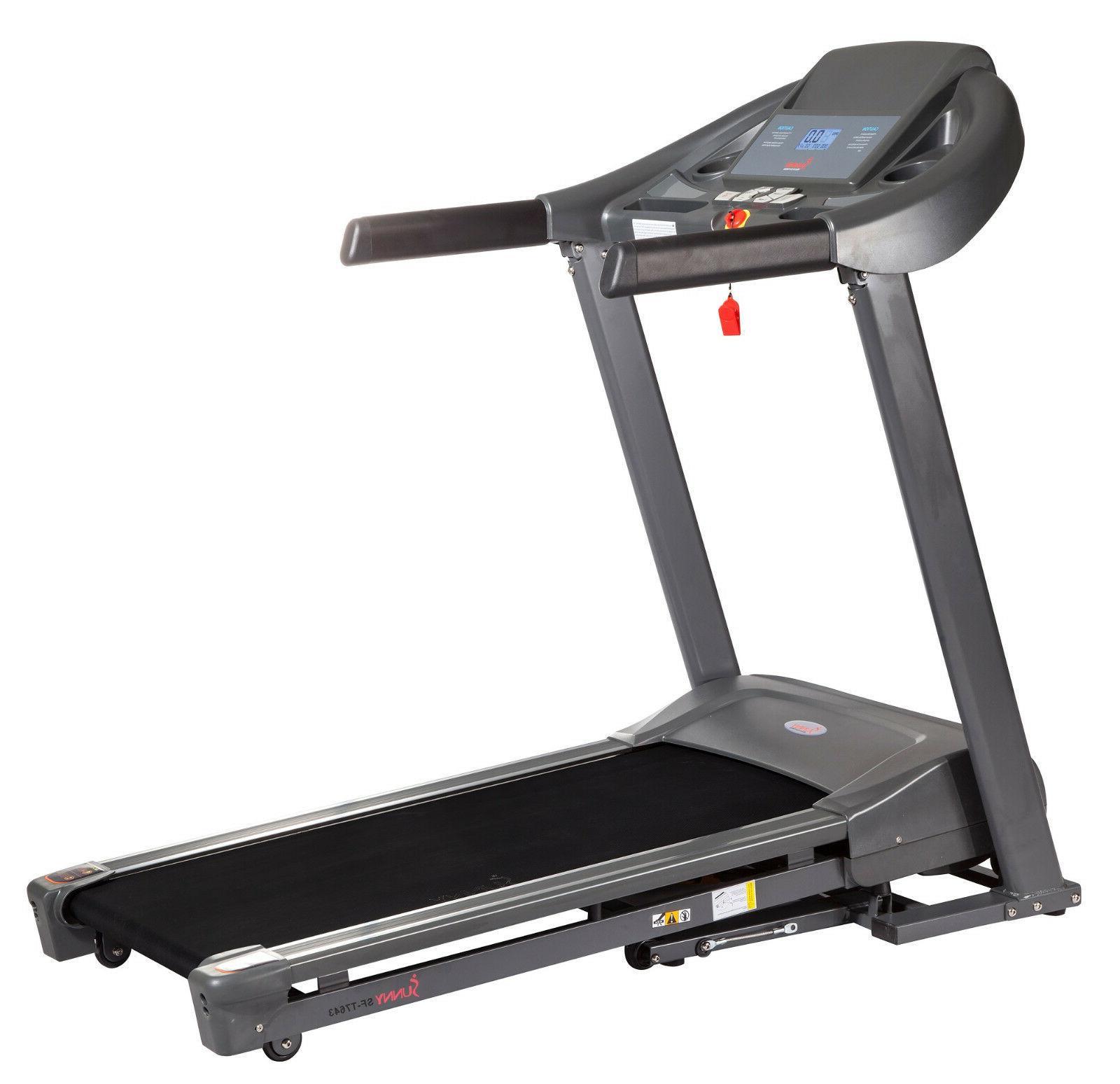Sunny Health & Fitness Heavy Duty Manual Walking Exercise Tr