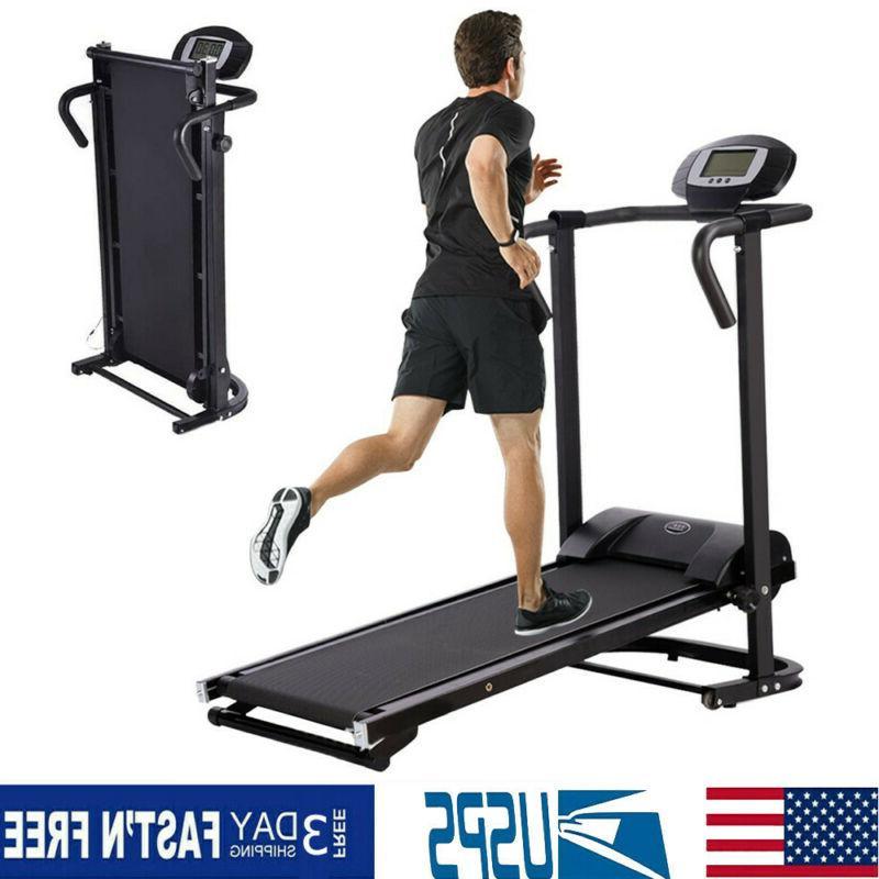 manual mini treadmill running walking jogging exercise