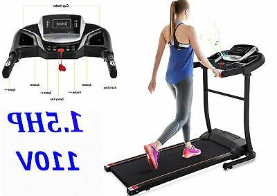 motorized electric treadmill running machine heavy duty