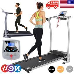 Mini Folding Electric Fitness Treadmill Home Office Running