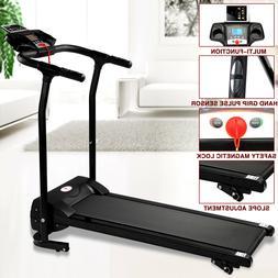 Portable Folding 1100W Electric Motorized Treadmill Running