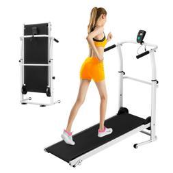 Treadmill Machine Folding Incline Cardio Fitness Exercise Po